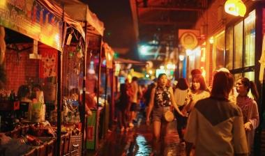 促销活动策划 花椒旅行卡-来曼谷这个夜市必打卡